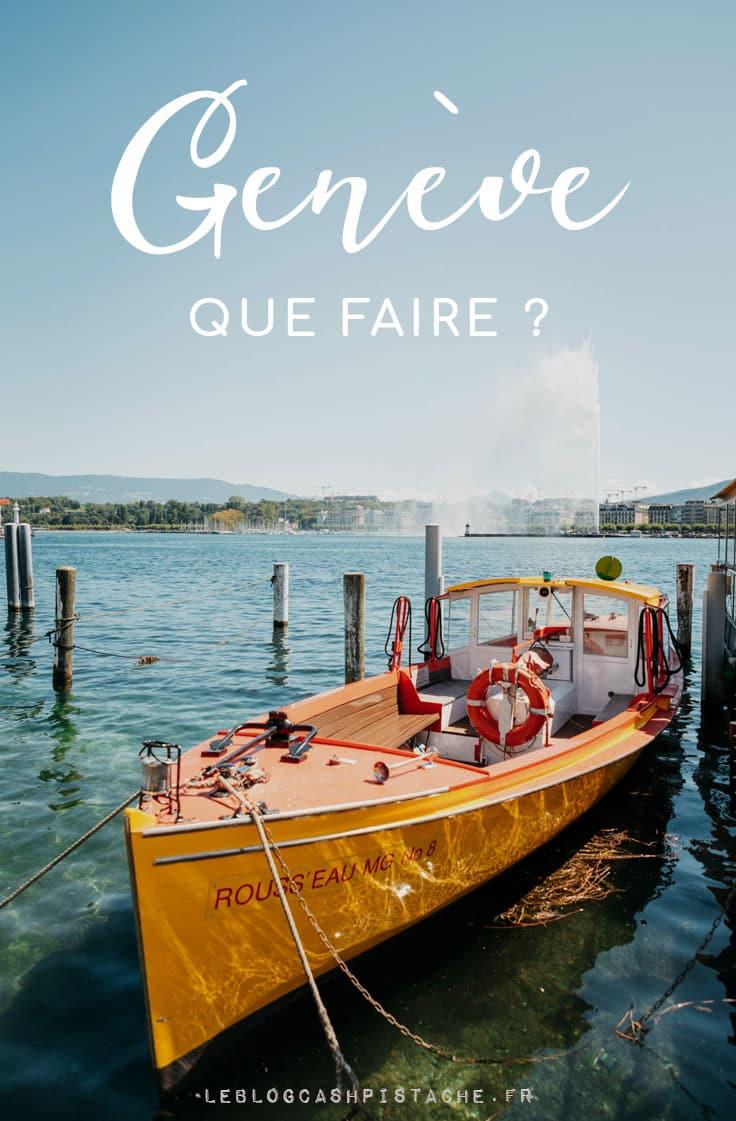 que faire et voir à Genève en Suisse week-end nature