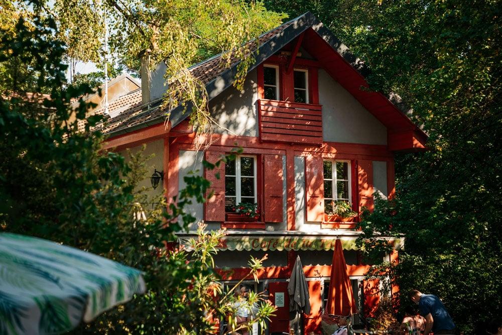 restaurant bois de la bâtie Genève