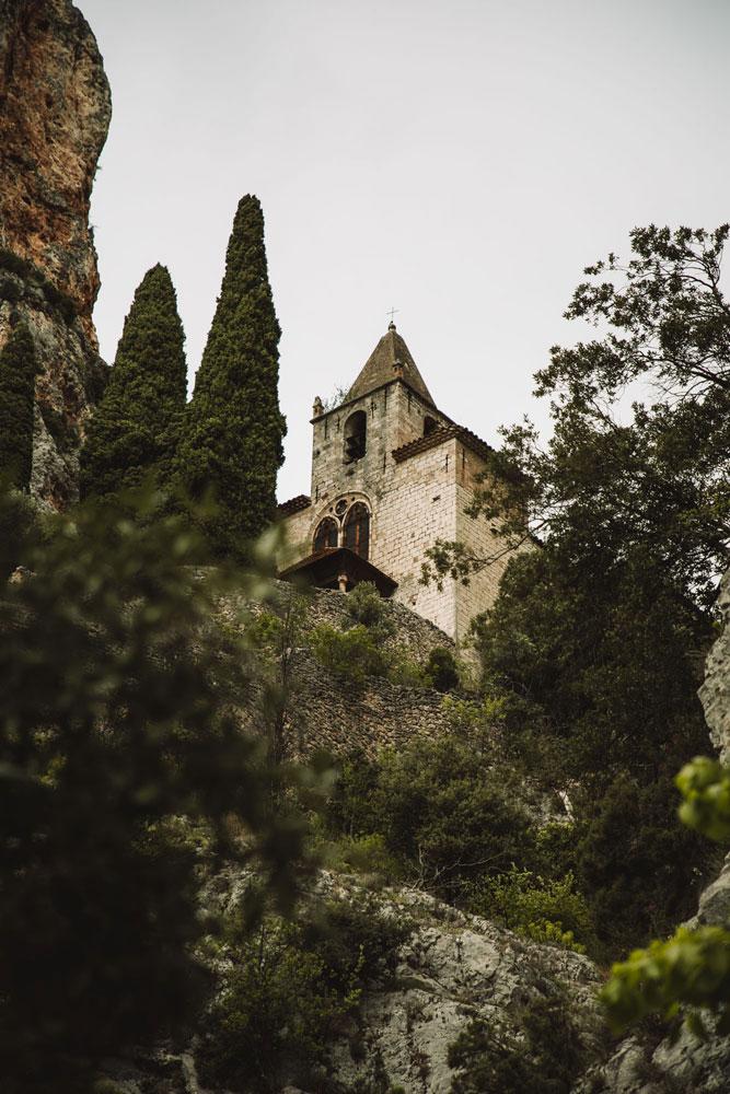 sentier de la chapelle Moustiers Verdon