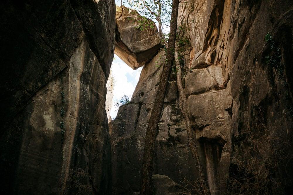 sentier de randonnée Annot Verdon