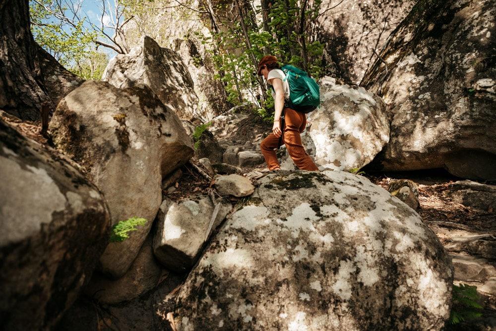 site de blocs Annot grimpeurs Verdon