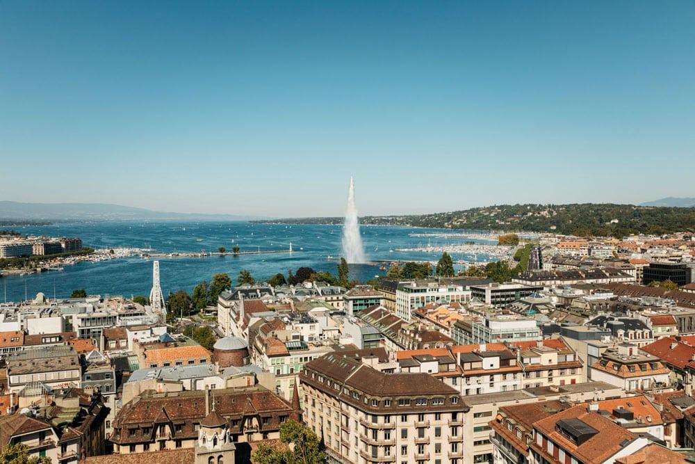 visiter Genève que faire voir week-end nature et monuments