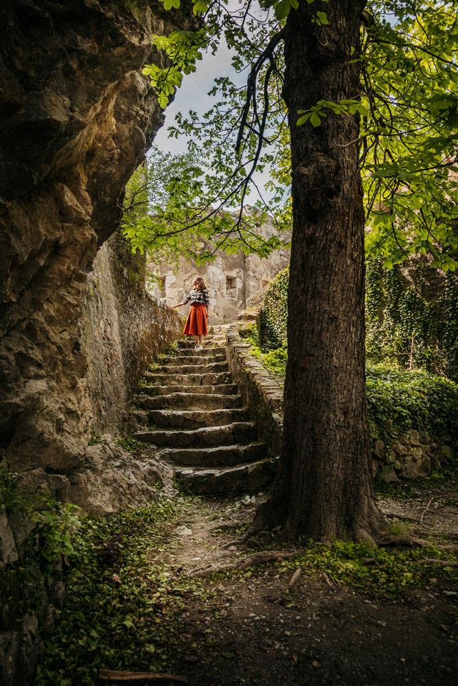 visiter la citadelle d'Entrevaux en Verdon