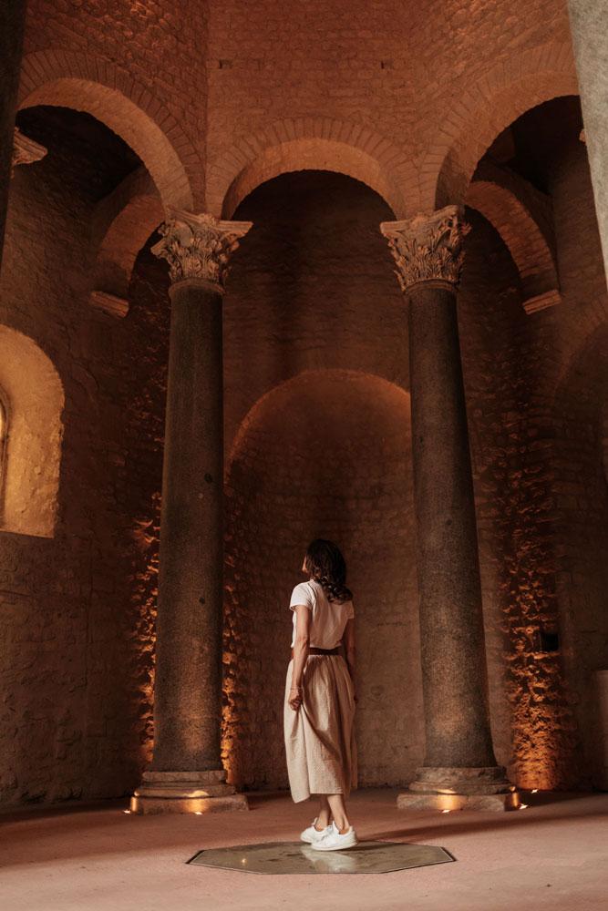 visiter le baptistère de Riez patrimoine du Verdon