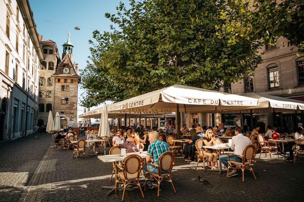 visiter le centre ville de Genève