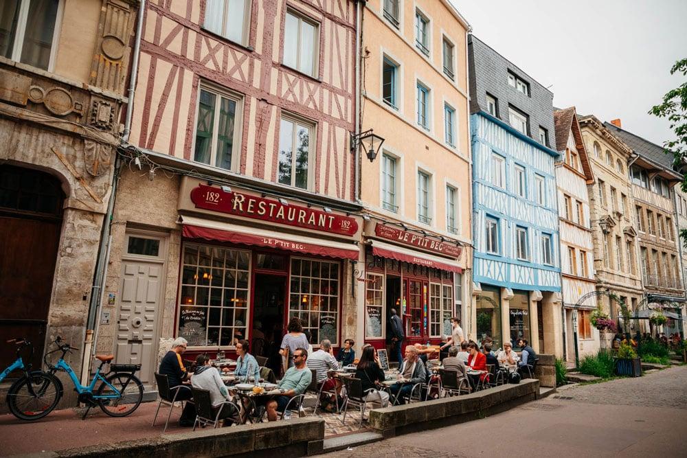 avis restaurant Petit Bec Rouen
