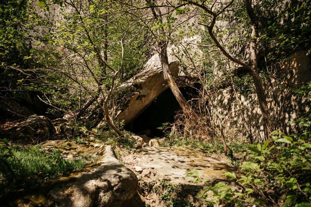 belle randonnée grès Annot