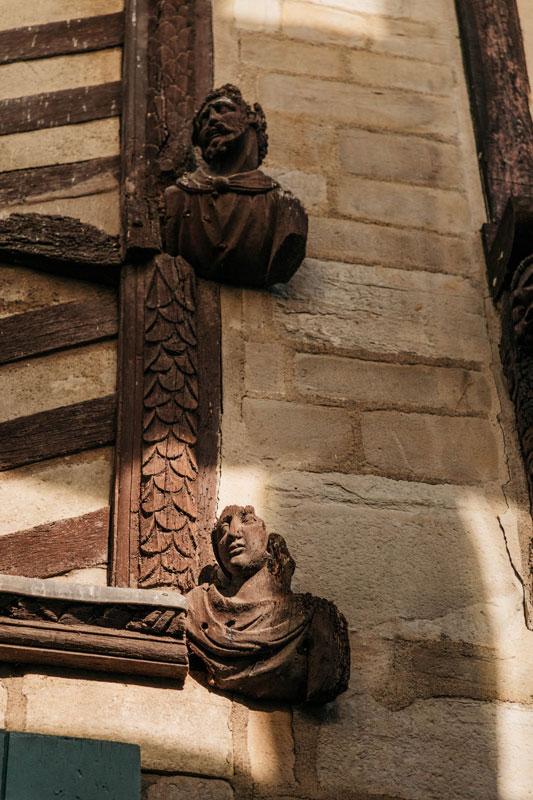 détail patrimoine monument historique Vitré