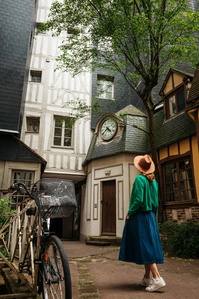 explorer spots secrets de Rouen en week-end