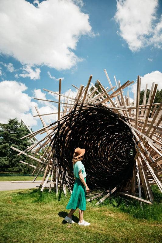exposition art en nature Bretagne