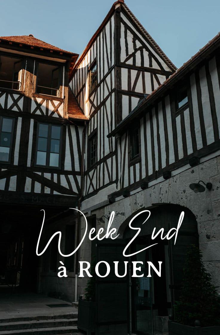guide visiter Rouen