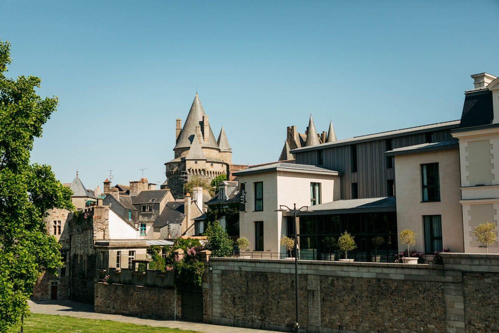 hôtel centre ville Vitré proche du château