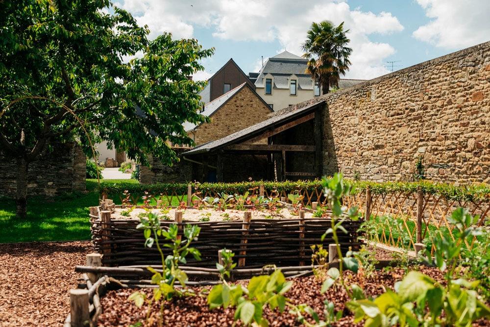 jardin médiéval Guerche de Bretagne