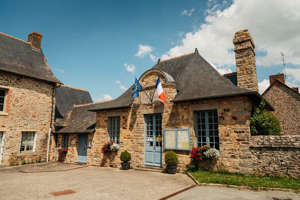 la plus belle mairie de Bretagne