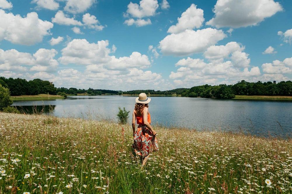 lac de la Vallière pays de Vitré