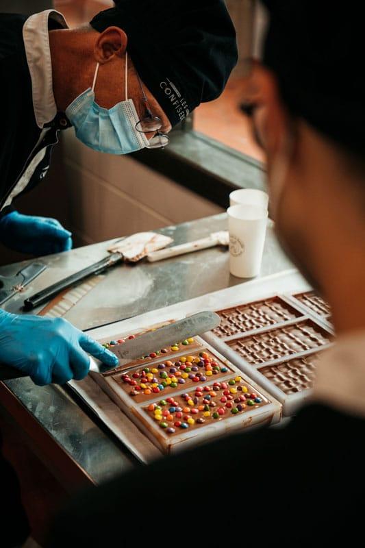 les confiseurs fabrication et ateliers sucre de Rouen