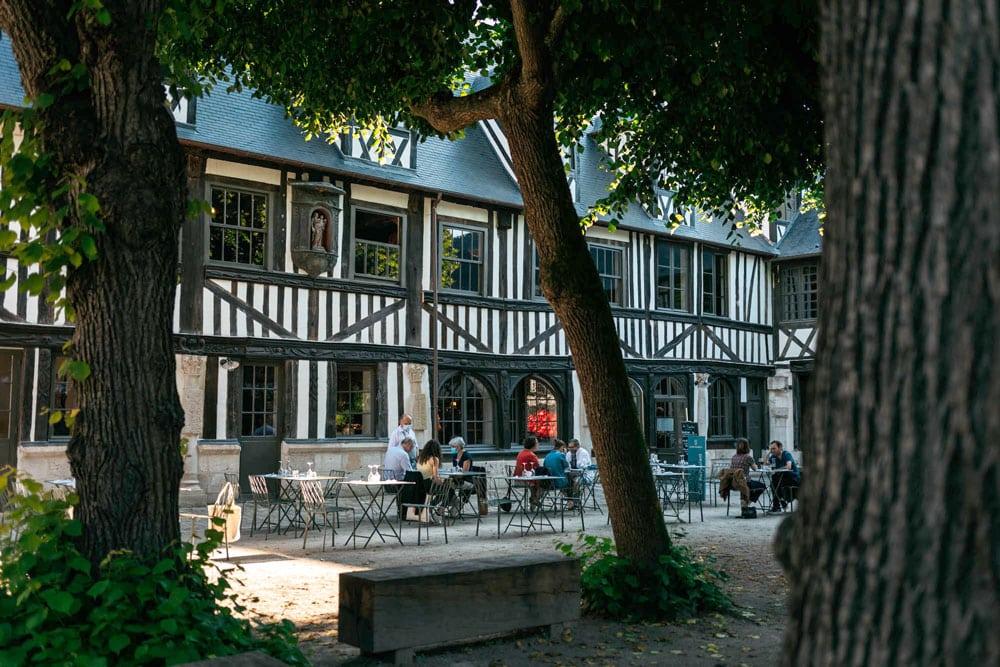 meilleure adresse restaurant Aître Saint Maclou Rouen