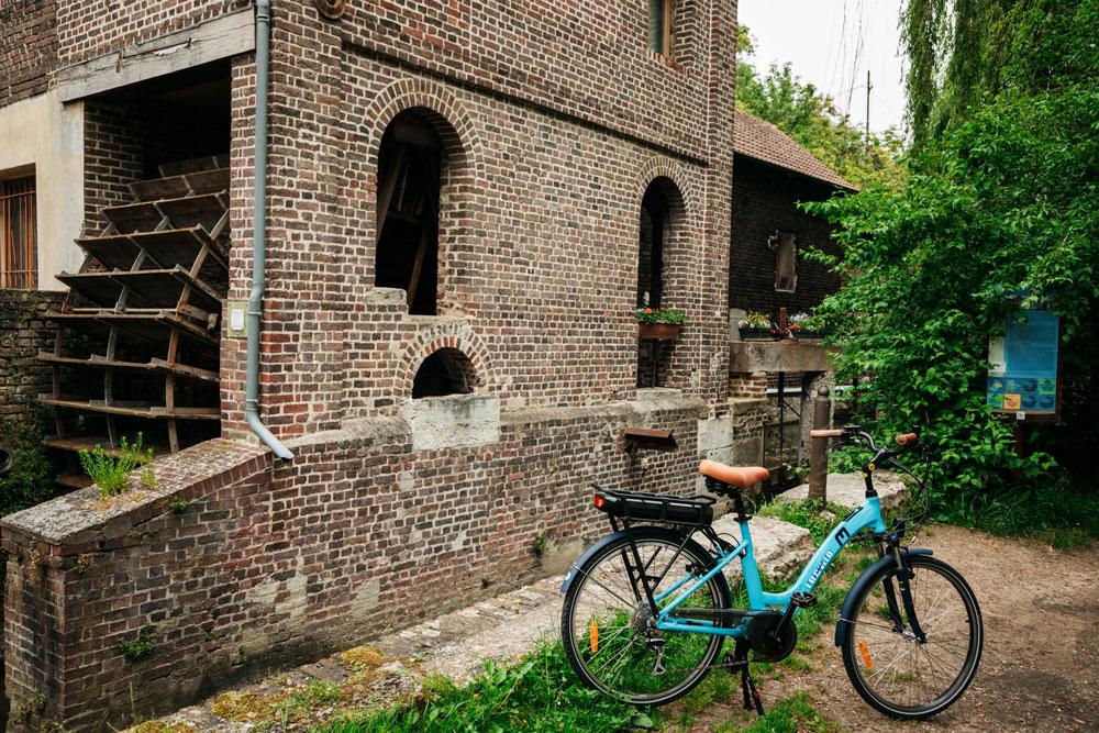 où faire promenade à vélo Rouen