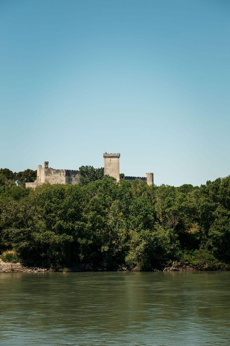où voir panorama forteresse de Beaucaire