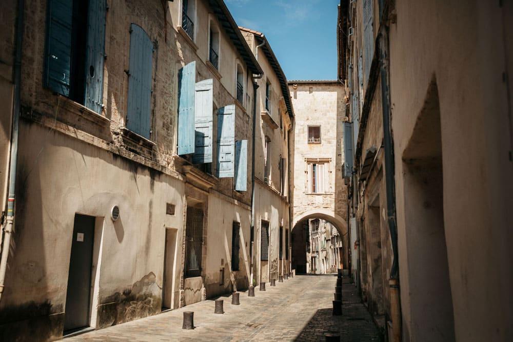 patrimoine rues de Beaucaire