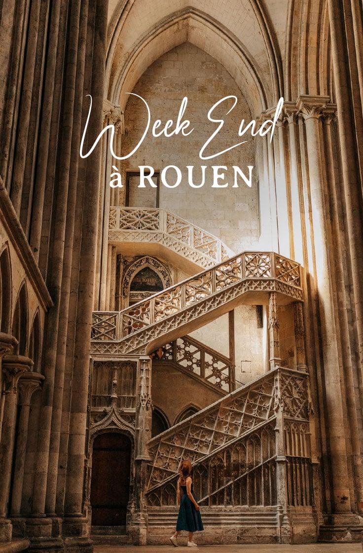 préparer son week-end à Rouen