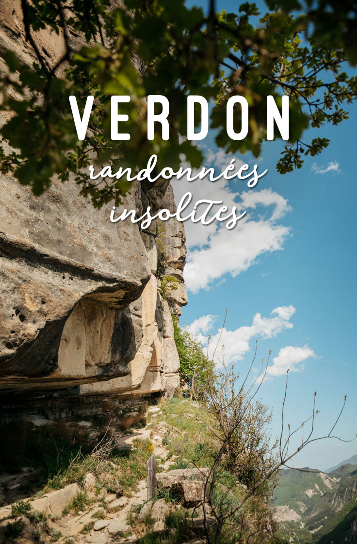 randonnées insolites du Verdon