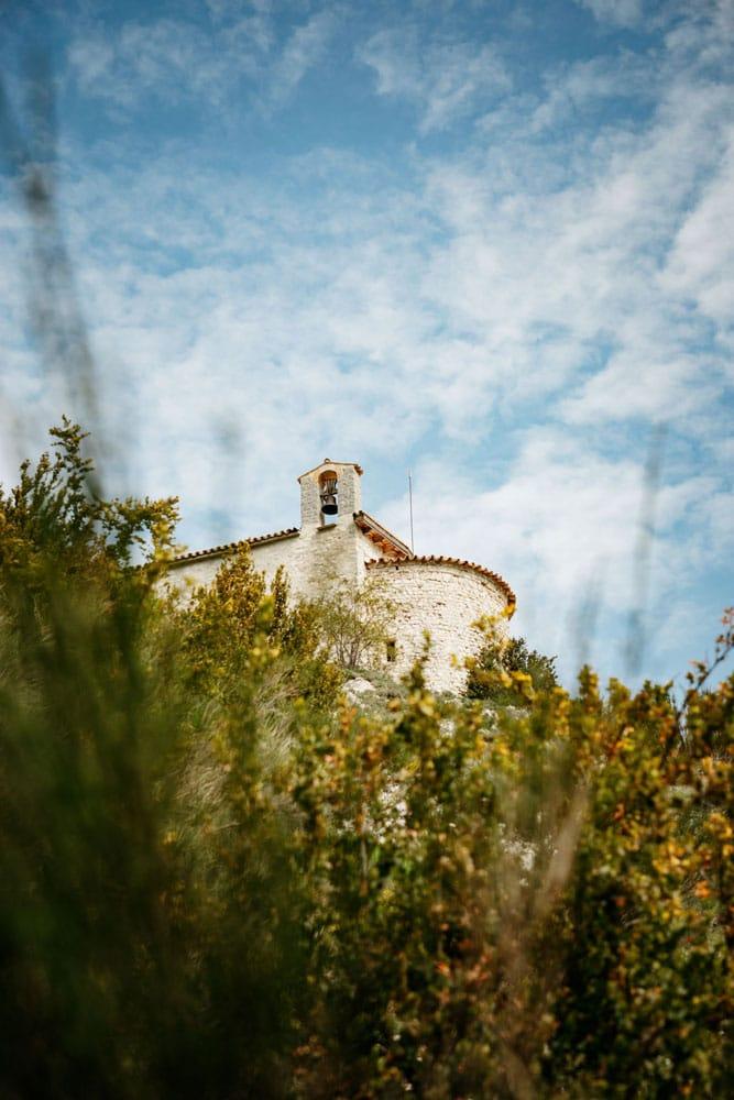 randonnée chapelle Peyroules