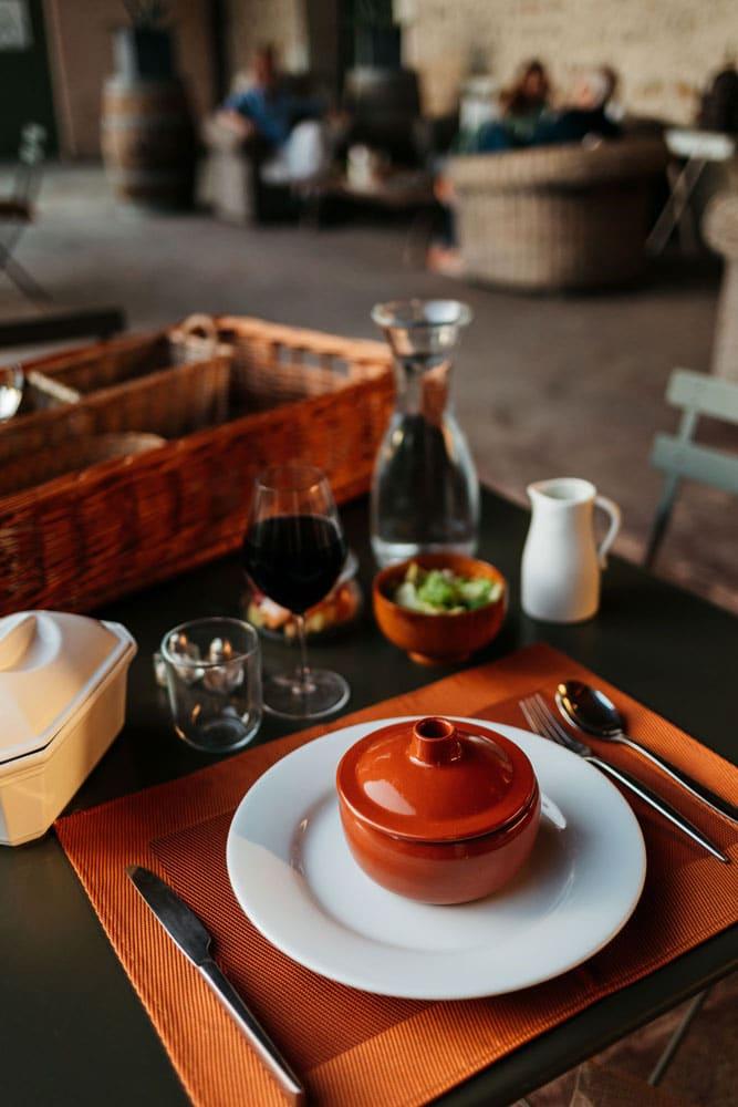 repas panier domaine des Clos Beaucaire