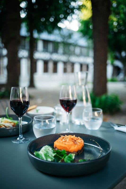 restaurant café Hamlet Rouen