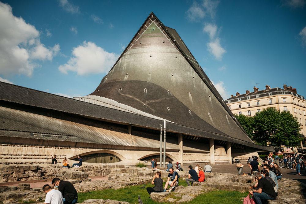 Rouen faire église Jeanne d'Arc