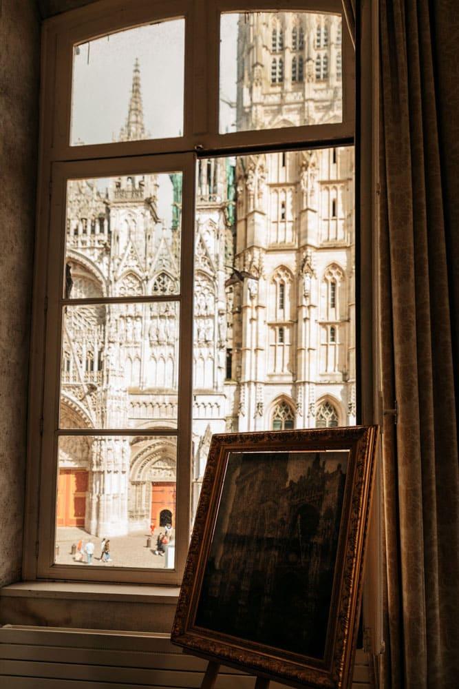 tableau de Monet cathédrale de Rouen