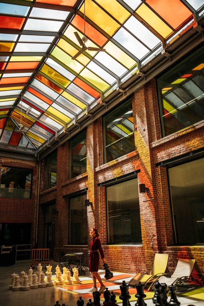usine textile réhabilitée Elbeuf