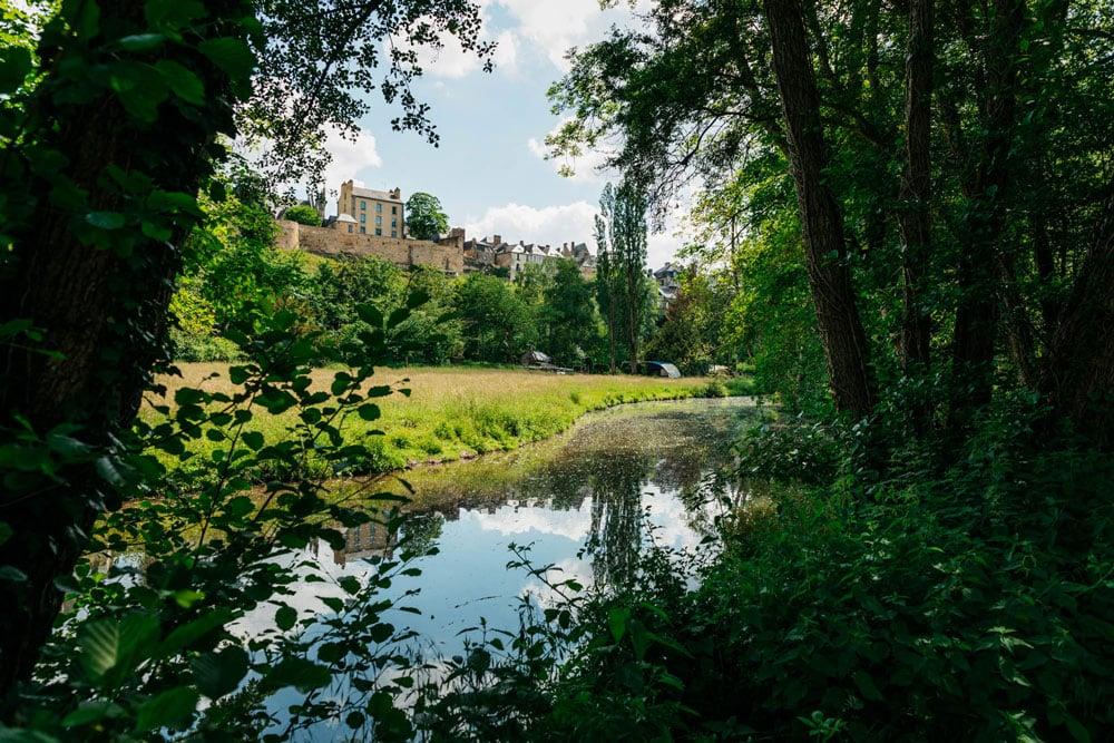 vallée de la Vilaine Lavandières