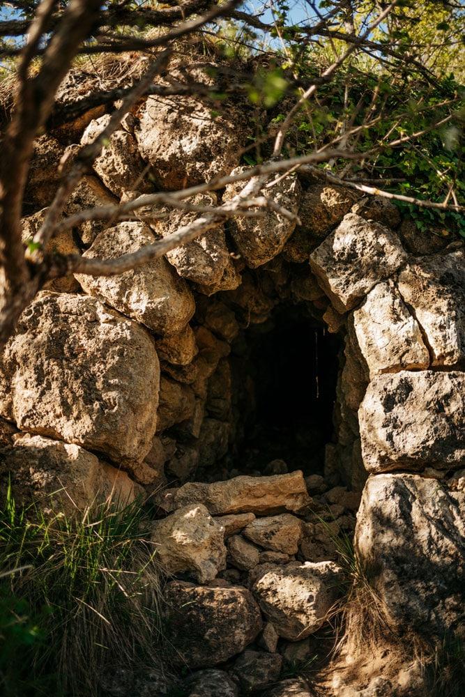 vestiges chemin de croix Castellane
