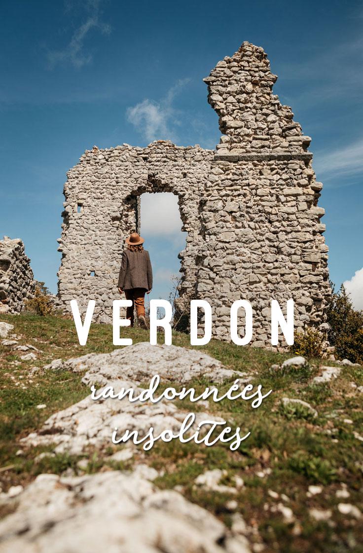 villages abandonnés du Verdon