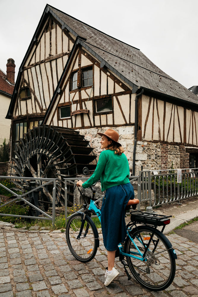 visite guidée en vélo Rouen