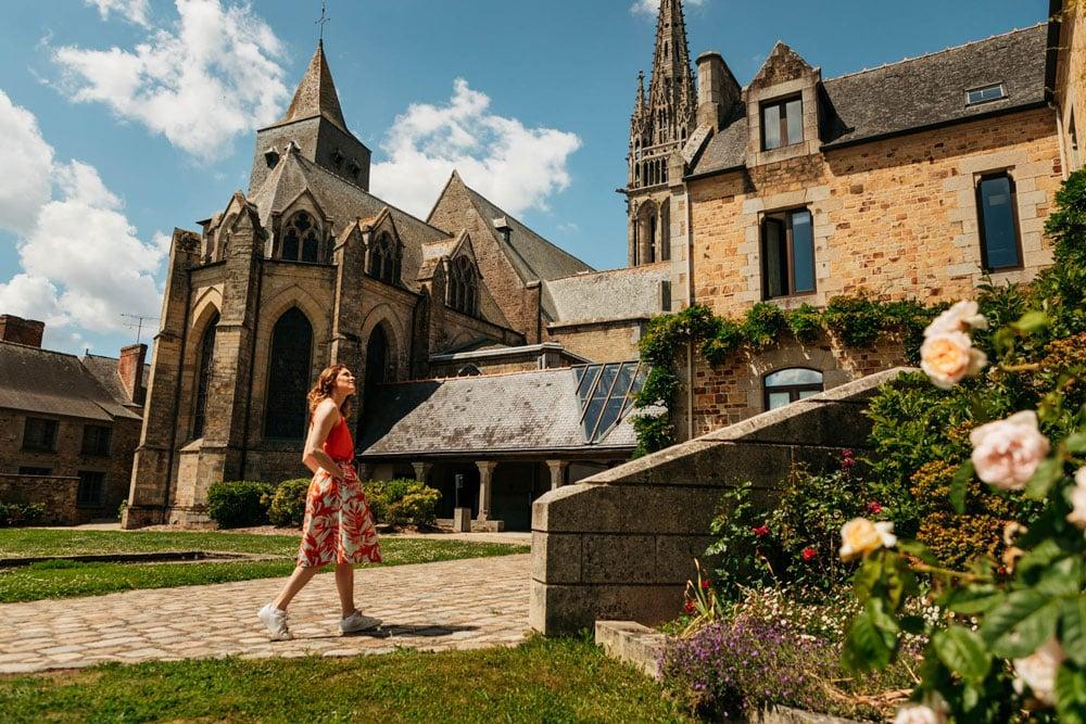 visiter basilique Guerche de Bretagne