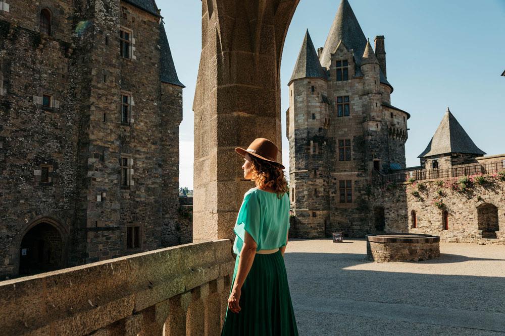 visiter château de Haute Bretagne Vitré