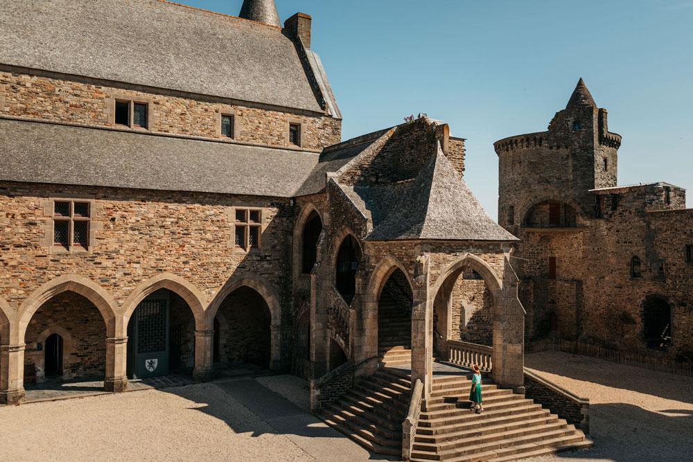 visiter château de Vitré