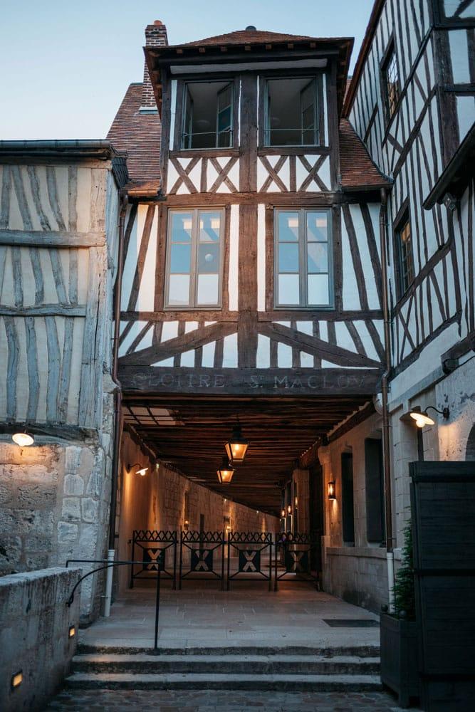 visites guidées Aître Saint Maclou Rouen