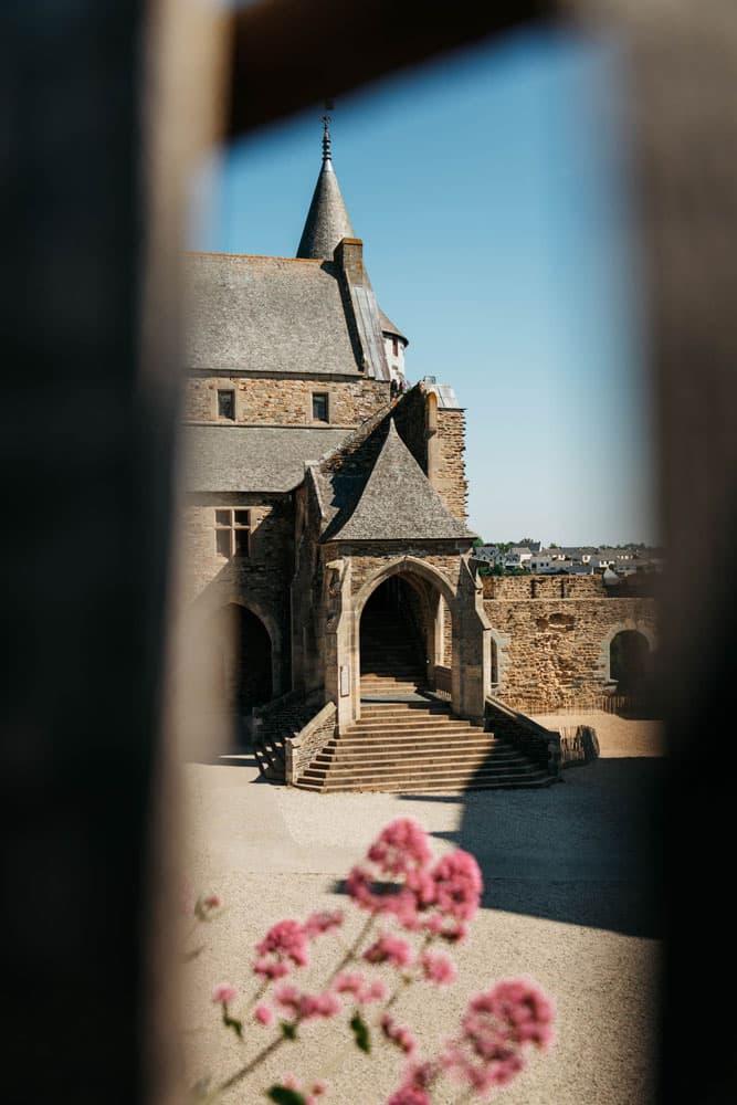 voir intérieur château Vitré