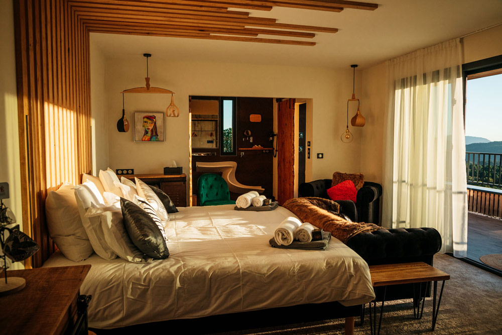 belle suite rooftop Corse du sud
