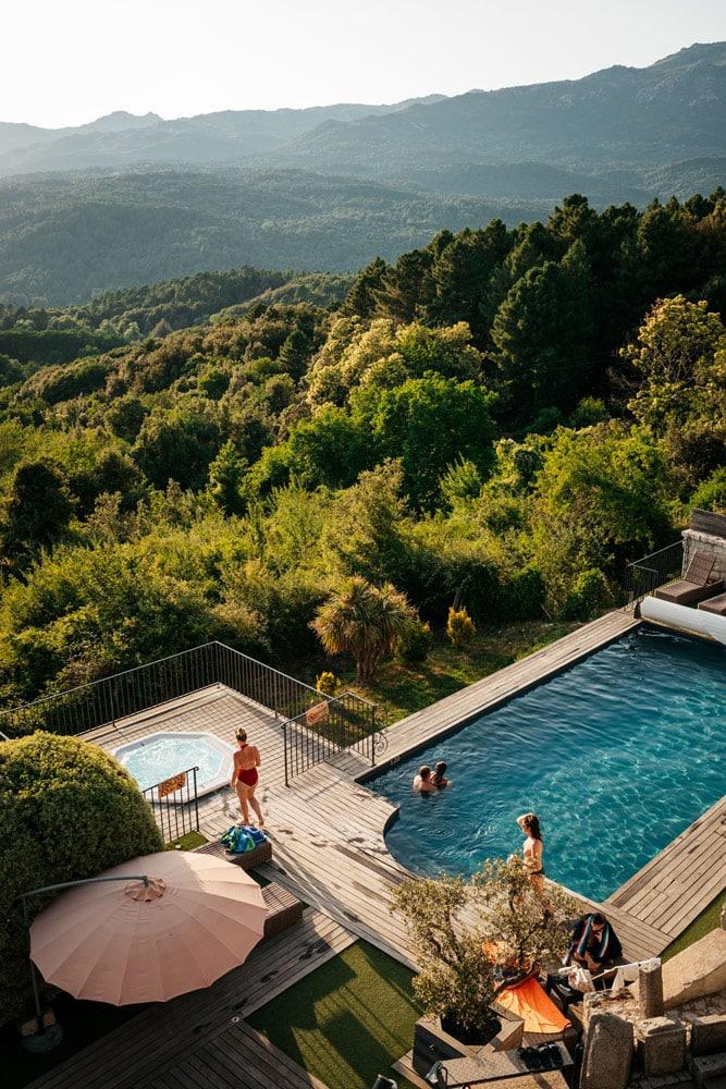 hôtel le Tourisme Zonza Corse