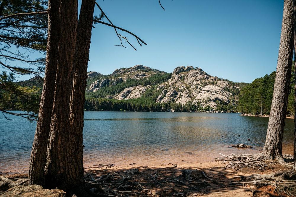 lac de l'Ospédale Corse du sud