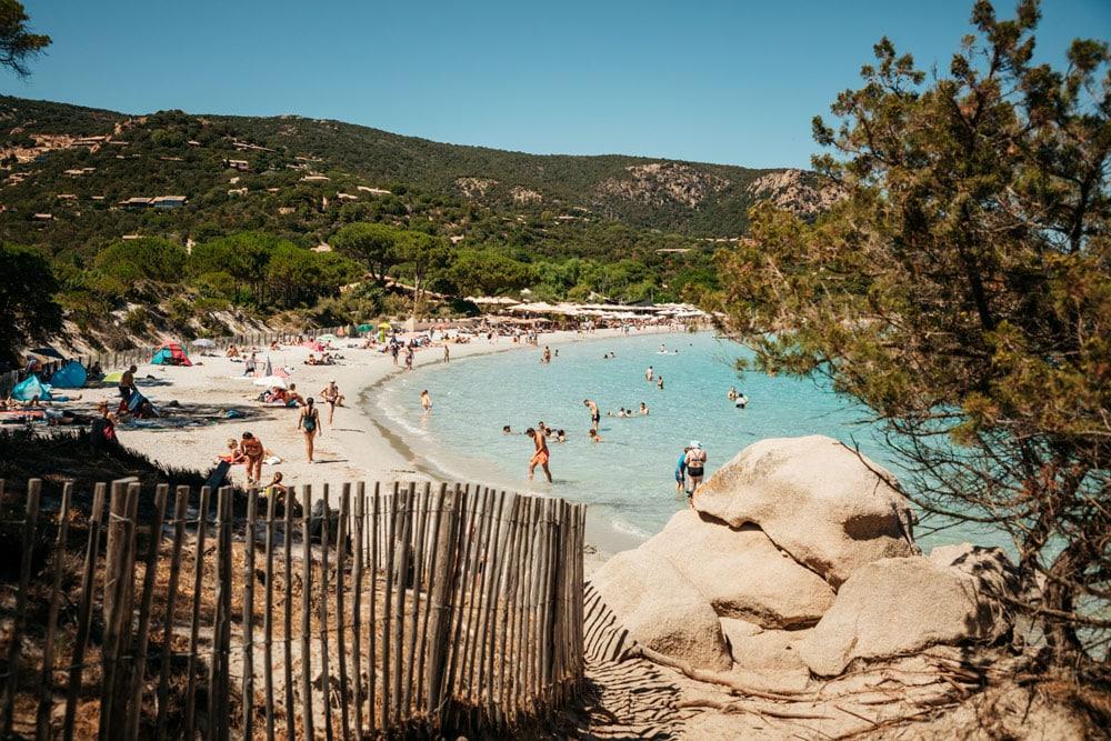 plage de Palombaggia Corse du Sud