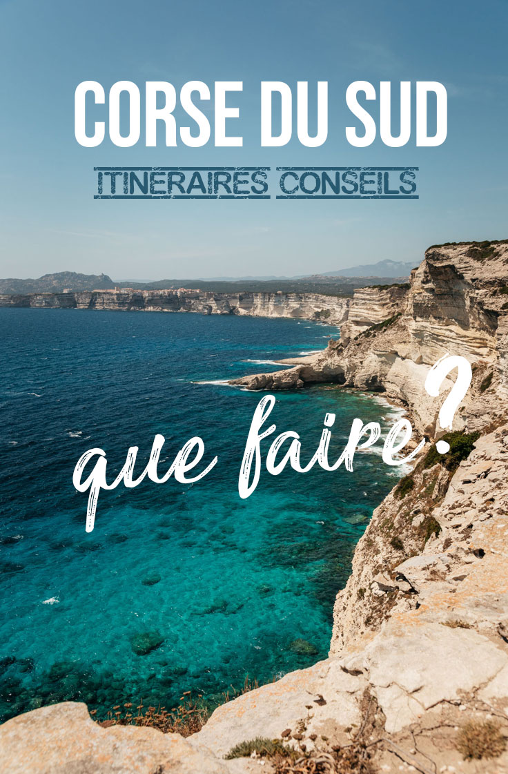 road trip Corse du Sud 1 semaine