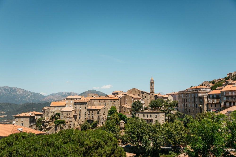 Sartène Corse village pittoresque