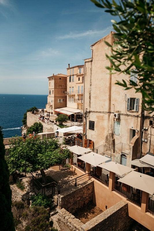 visiter Bonifacio patrimoine Corse