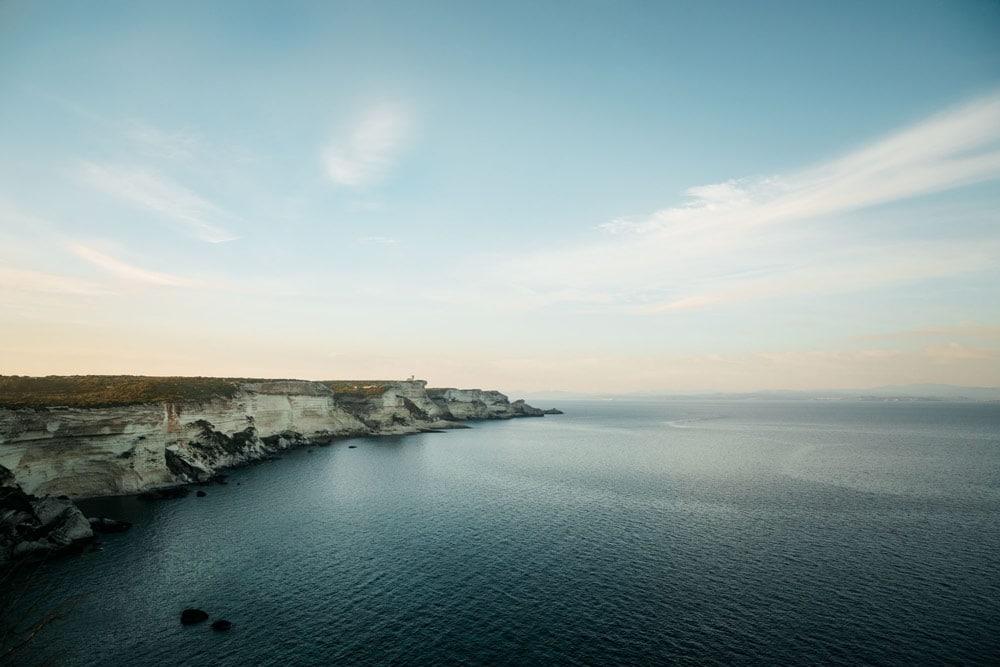 voir falaises Bonifacio