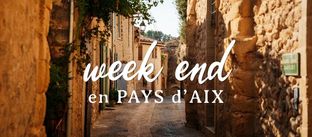 week end en famille Pays d'Aix en Provence